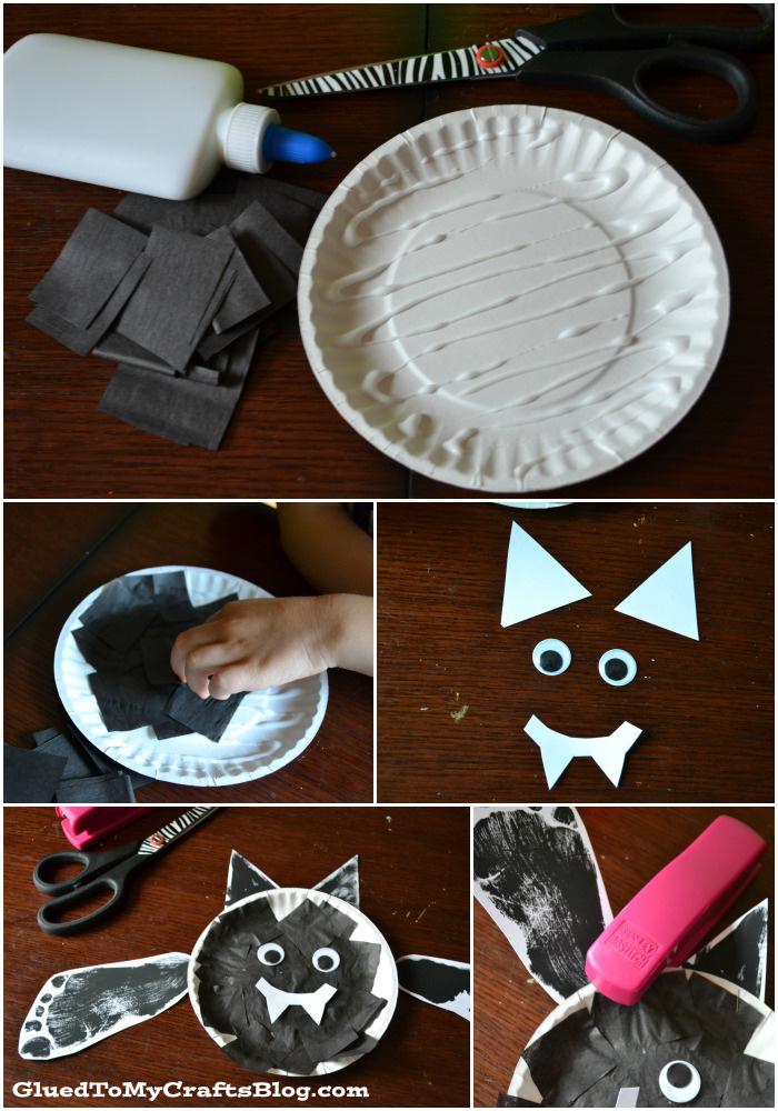 Halloween Bat Kid Craft | anightowlblog.com
