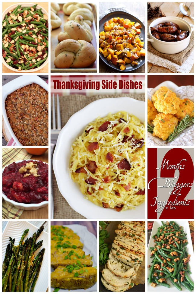 12 Thanksgiving Side Dishes | anightowlblog.com