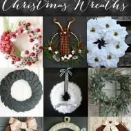 Easy Poinsettia Christmas Wreath