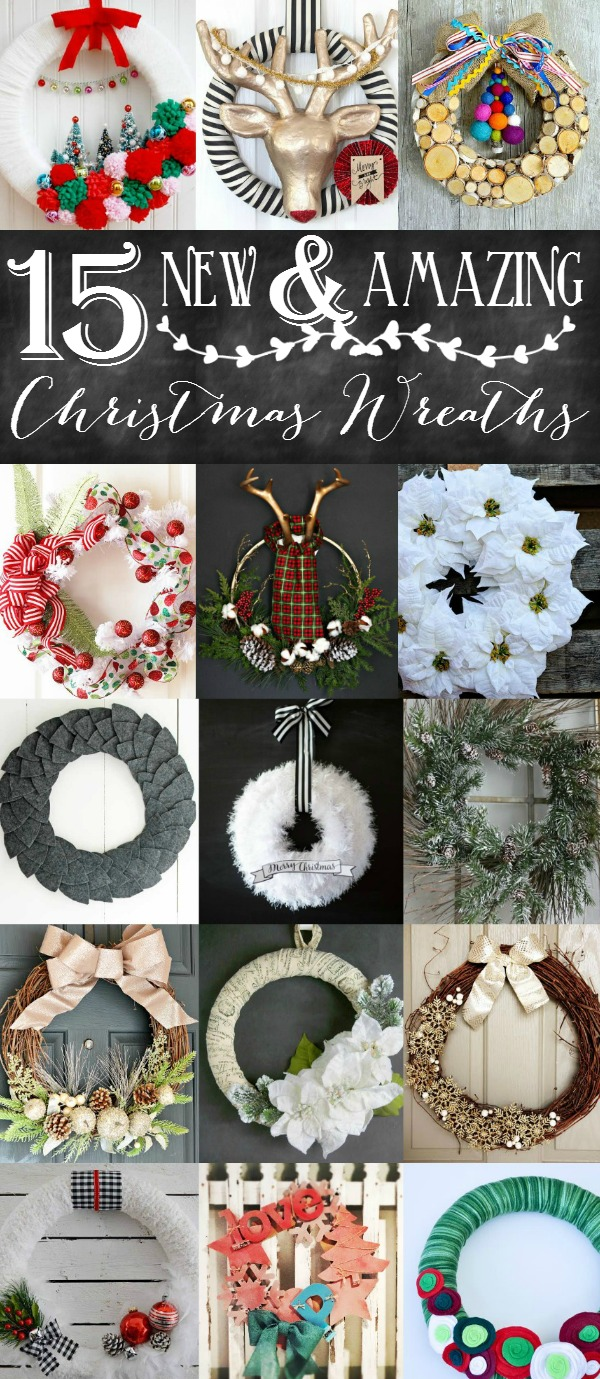 15 New and Amazing Christmas Wreaths | anightowlblog.com