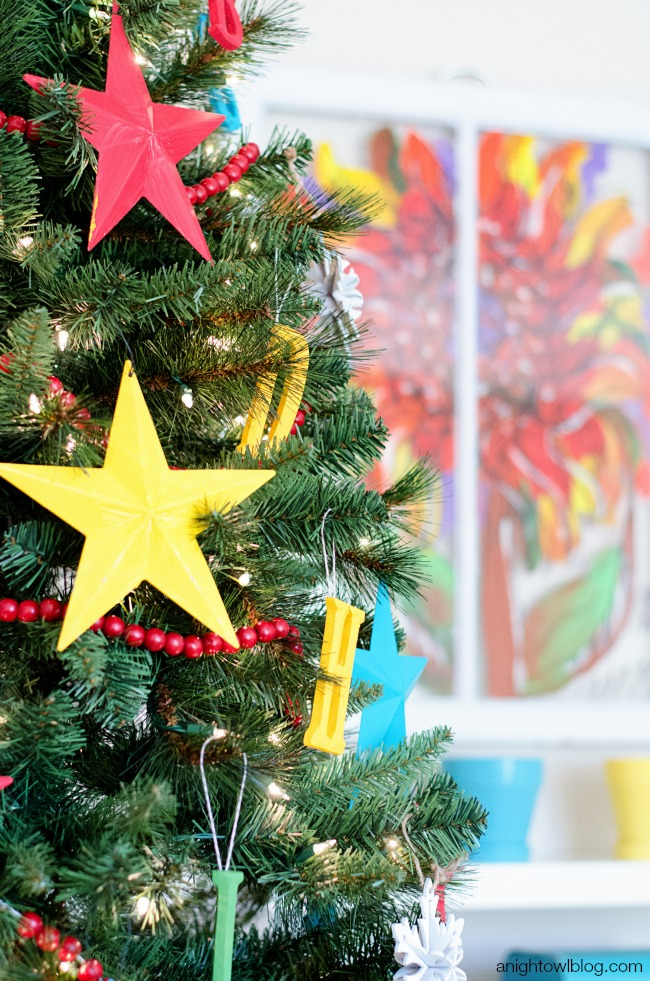 ABC Kids Christmas Tree - a fun, bright and interactive tree for your family!