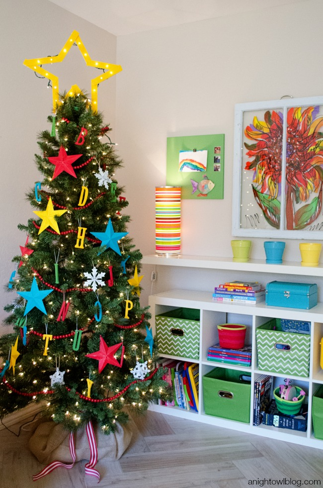 abc kids christmas tree a fun bright and interactive tree for your family - Christmas Tree Decorations For Kids