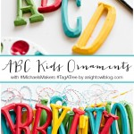 ABC Kids Christmas Ornaments