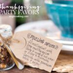 DIY Thanksgiving Party Favors