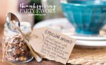 DIY Thanksgiving Party Favors | anightowlblog.com