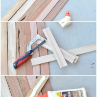 DIY Wooden Table Runner
