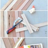 DIY Wooden Table Runner