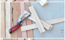 DIY Wooden Table Runner | anightowlblog.com