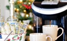 Holiday Coffee Bar with Better Homes and Gardens | anightowlblog.com
