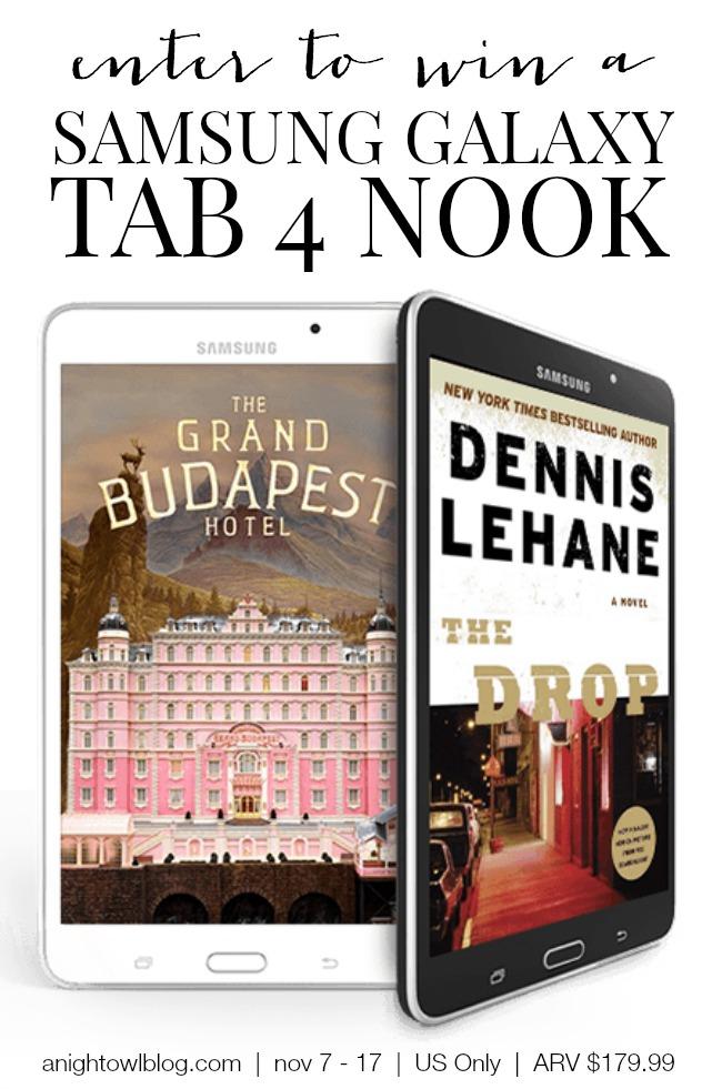Samsung Galaxy Tab 4 Nook Review | anightowlblog.com