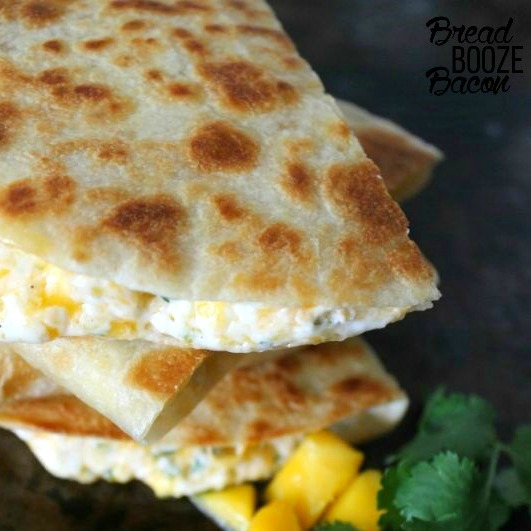 Shrimp Mango Quesadillas SQUARE