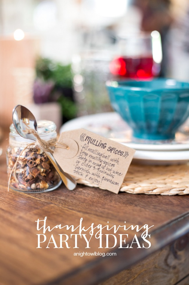 Thanksgiving Party Ideas A Night Owl Blog