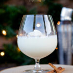 White Chocolate Eggnog Cocktail