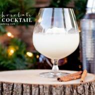 White Chocolate Eggnog Cocktail