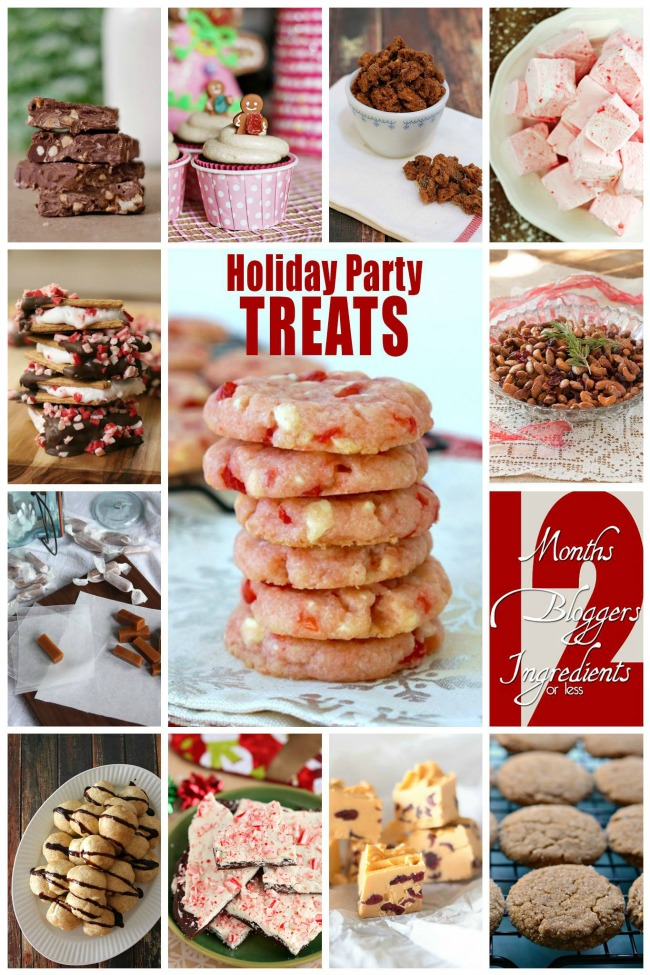 12 Holiday Party Treats | anightowlblog.com