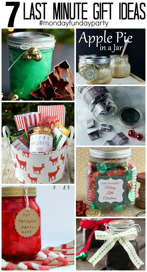 Last Minute Gift Ideas | Monday Funday Link Party