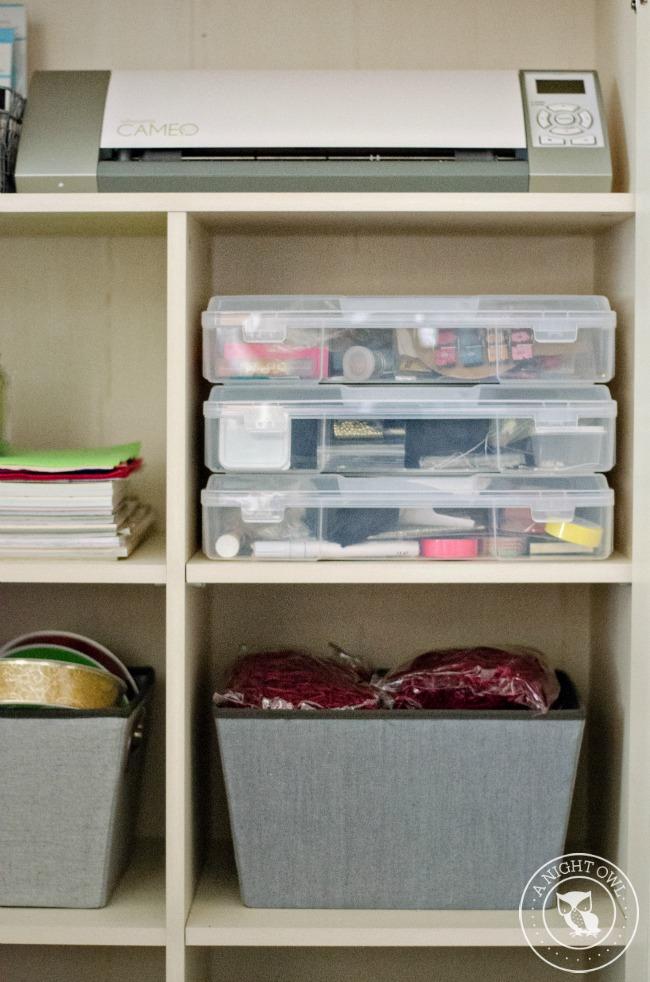 Craft Organization with Sauder | anightowlblog.com