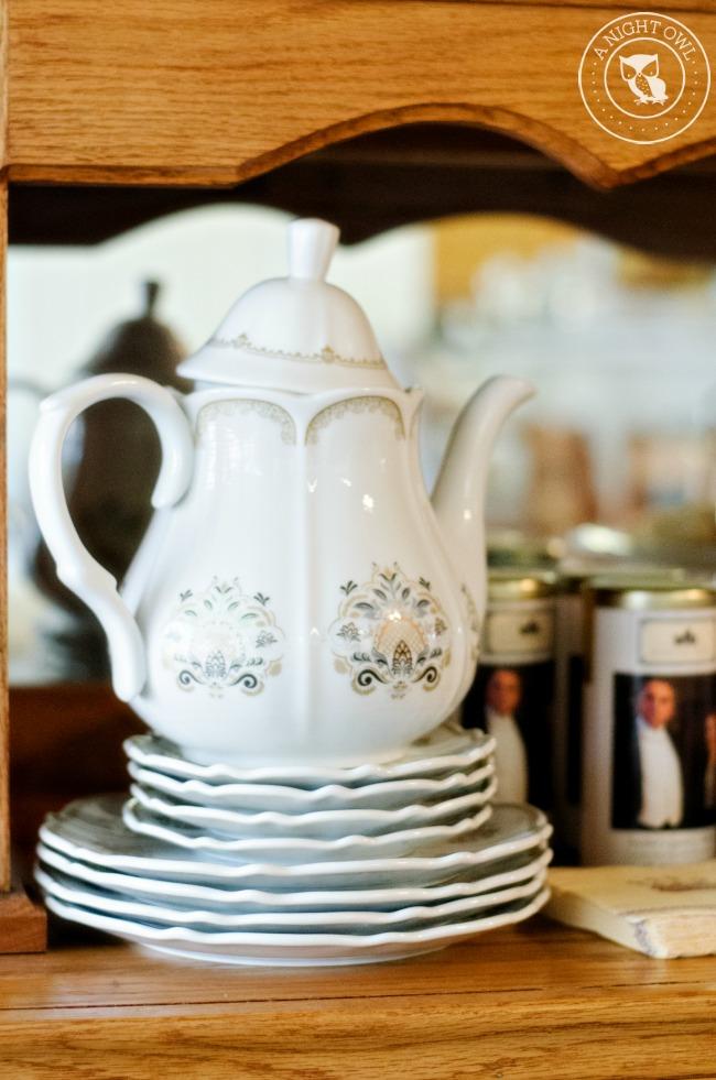 Downton Abbey Tea Party A Night Owl Blog