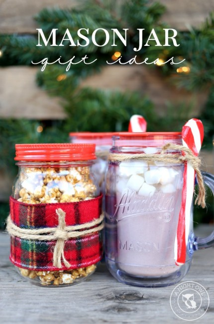Easy Mason Jar Gifts | anightowlblog.com
