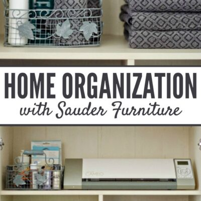 Home Organization with Sauder | anightowlblog.com
