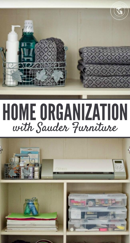 Home Organization with Sauder | anightowlblog.com