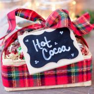 Hot Cocoa Bar in a Box   Gift Idea