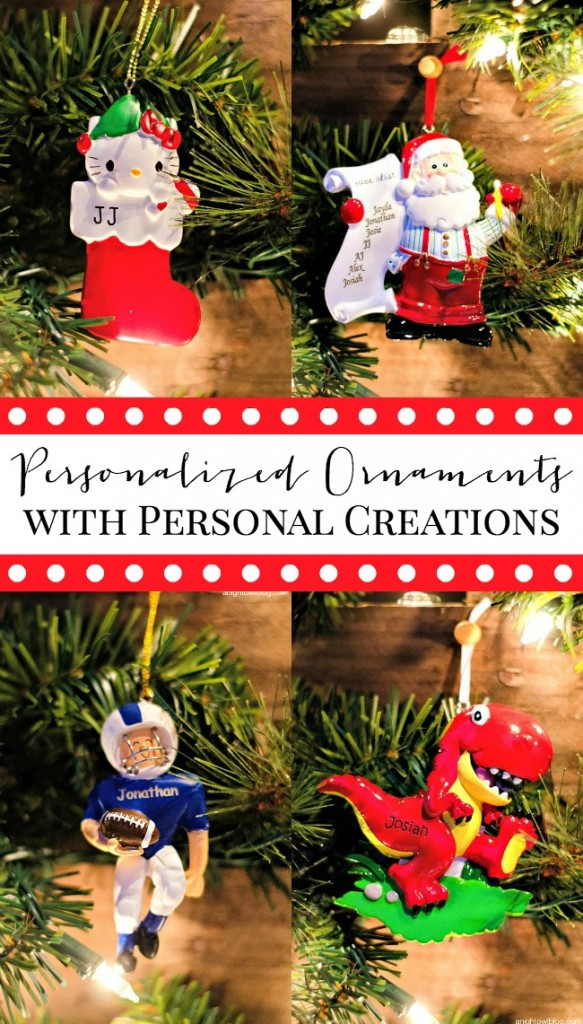 Personalized Ornaments at Personal Creations