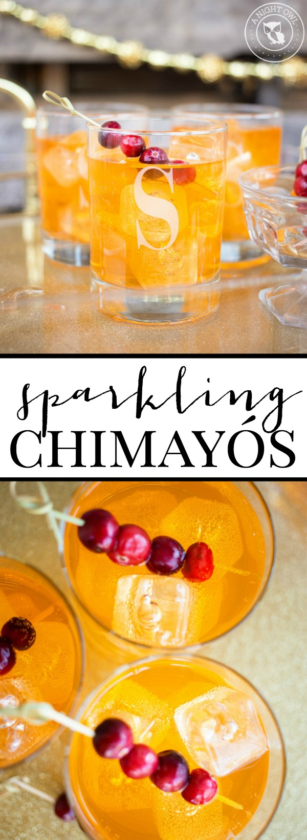 Sparkling Chimayo Cocktail | anightowlblog.com