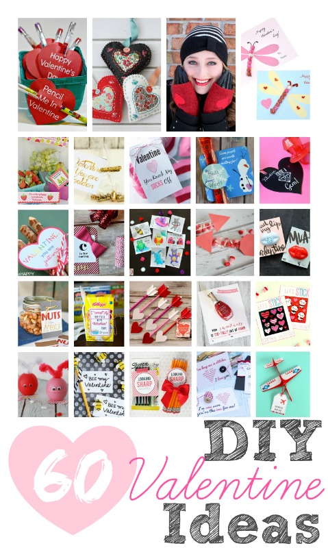 60 DIY Valentine Ideas | anightowlblog.com