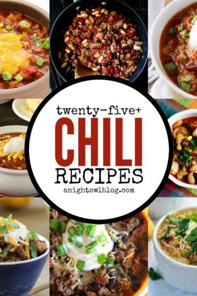 25+ Scrumptions Chili Recipes   anightowlblog.com