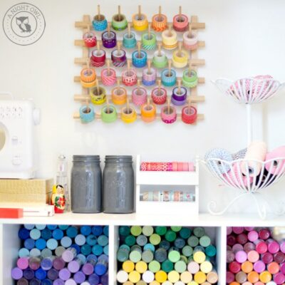 Easy Craft Room Organization