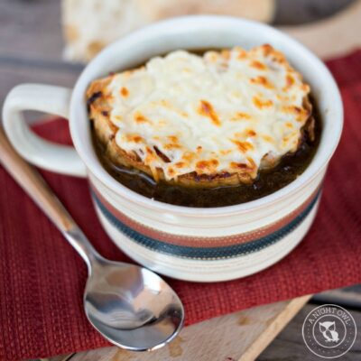 Crock Pot French Onion Soup | anightowlblog.com