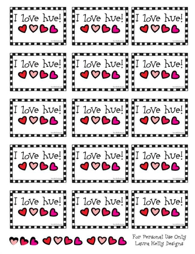 I Love Hue Printable   anightowlblog.com