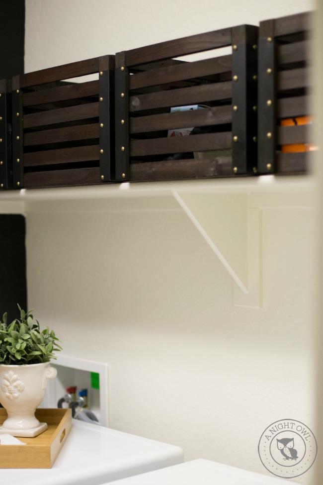 Stylish Laundry Room Storage Ideas | anightowlblog.com