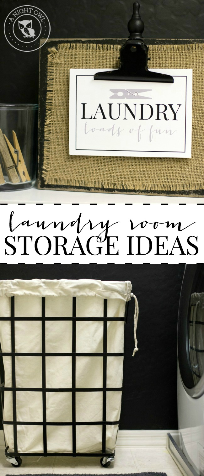 Stylish Laundry Room Storage Ideas   A Night Owl Blog