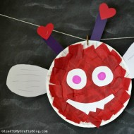 Love Bug Paper Plate Kid Craft