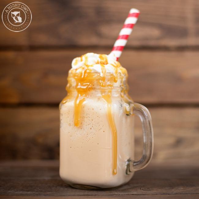 Skinny Caramel Frappuccino | A Night Owl Blog