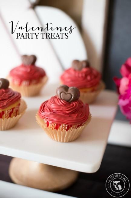 Valentines Party Treats | anightowlblog.com