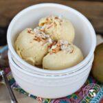 Homemade Mango Coconut Ice Cream
