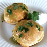 Salsa Verde Pork Pockets