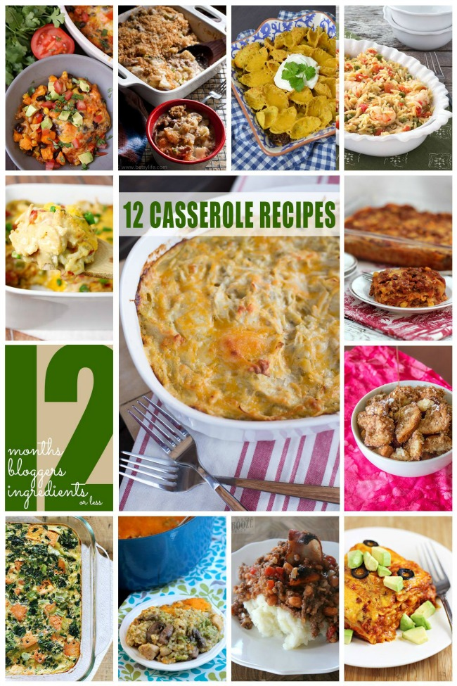 12 Delicious Casserole Recipes!