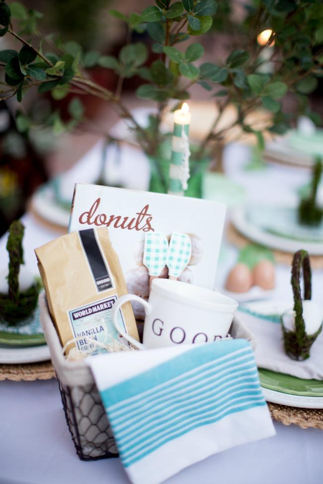 Breakfast Themed Gift Basket | anightowlblog.com