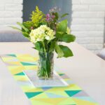 DIY Spring Paper Table Runner