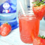 Easy Strawberries and Cream Cocktail