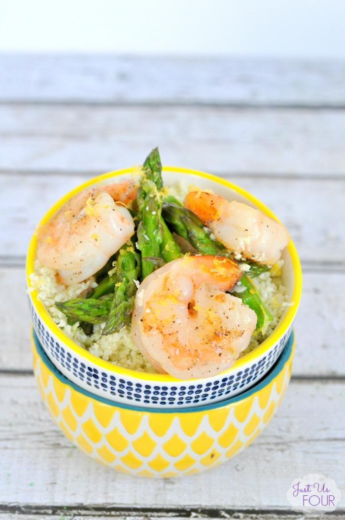 Paleo Lemon Shrimp Stir Fry