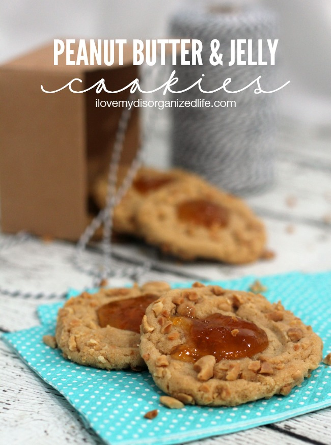 Peanut Butter and Jelly Cookies | A Night Owl Blog