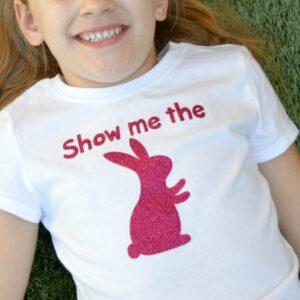 Show Me the Bunny Easter Tee | anightowlblog.com
