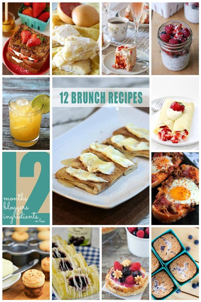 12 Brunch Recipes | anightowlblog.com