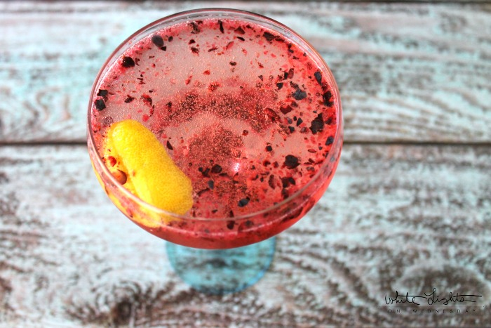 Bluberry Coupe Cocktail | anightowlblog.com