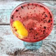 Blueberry Coupe Cocktail
